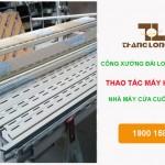 Đơn hàng công xưởng Đài Loan – Hàn điện nhà máy cửa cuốn Cát An.