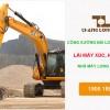 Đơn hàng công xưởng Đài Loan – Hàn và lái máy xúc công ty Long Phong