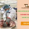 Đơn hàng công xưởng Đài Loan – chế biến thịt lợn nhà máy Quý Mỹ