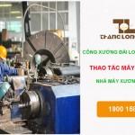 Đơn hàng công xưởng Đài Loan – Hàn điện, phun sơn cho công ty Xương Thái