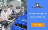 Đơn hàng thao tác máy công xưởng linh kiện ô tô Xương Đại
