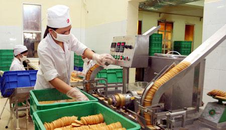 Nhà máy sản xuất bánh mỳ