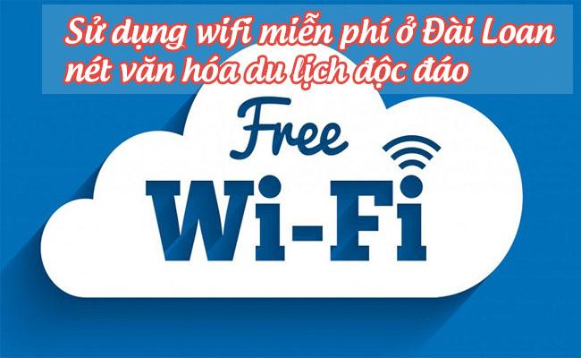 Sử dụng wifi miễn phí ở Đài Loan