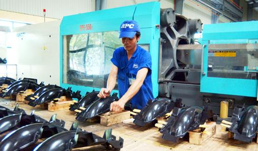 Nhà máy sản xuất đồ nhựa Gia Phong