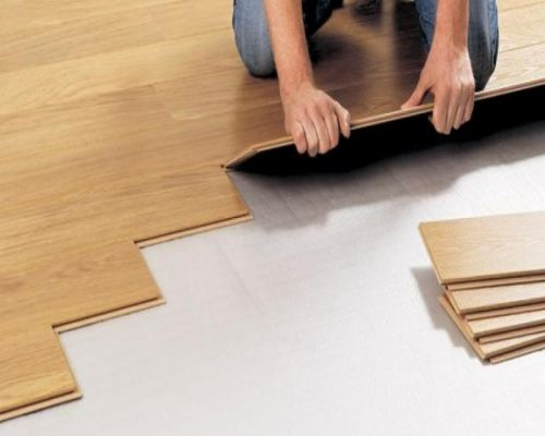 Lắp đặt sàn gỗ