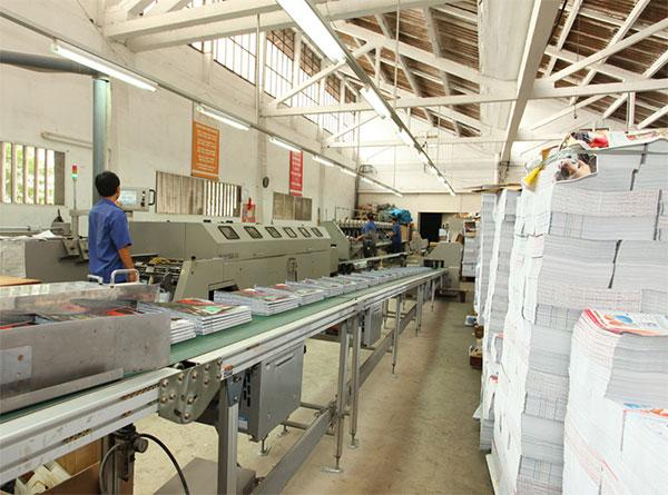 Xuất khẩu lao động Đài Loan nhà máy in Lượng Mỹ